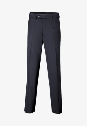 JAN  HERRENHOSE FLATFRONT - Pantalon de costume - dark blue