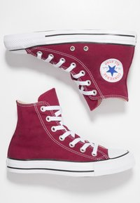 Converse - CHUCK TAYLOR ALL STAR HI - Korkeavartiset tennarit - maroon - 1
