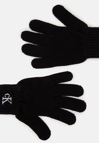 Calvin Klein Jeans - MONOGRAM GLOVES - Handschoenen - black - 1