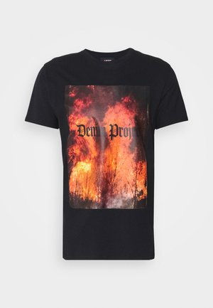 TREE TEE - Print T-shirt - black