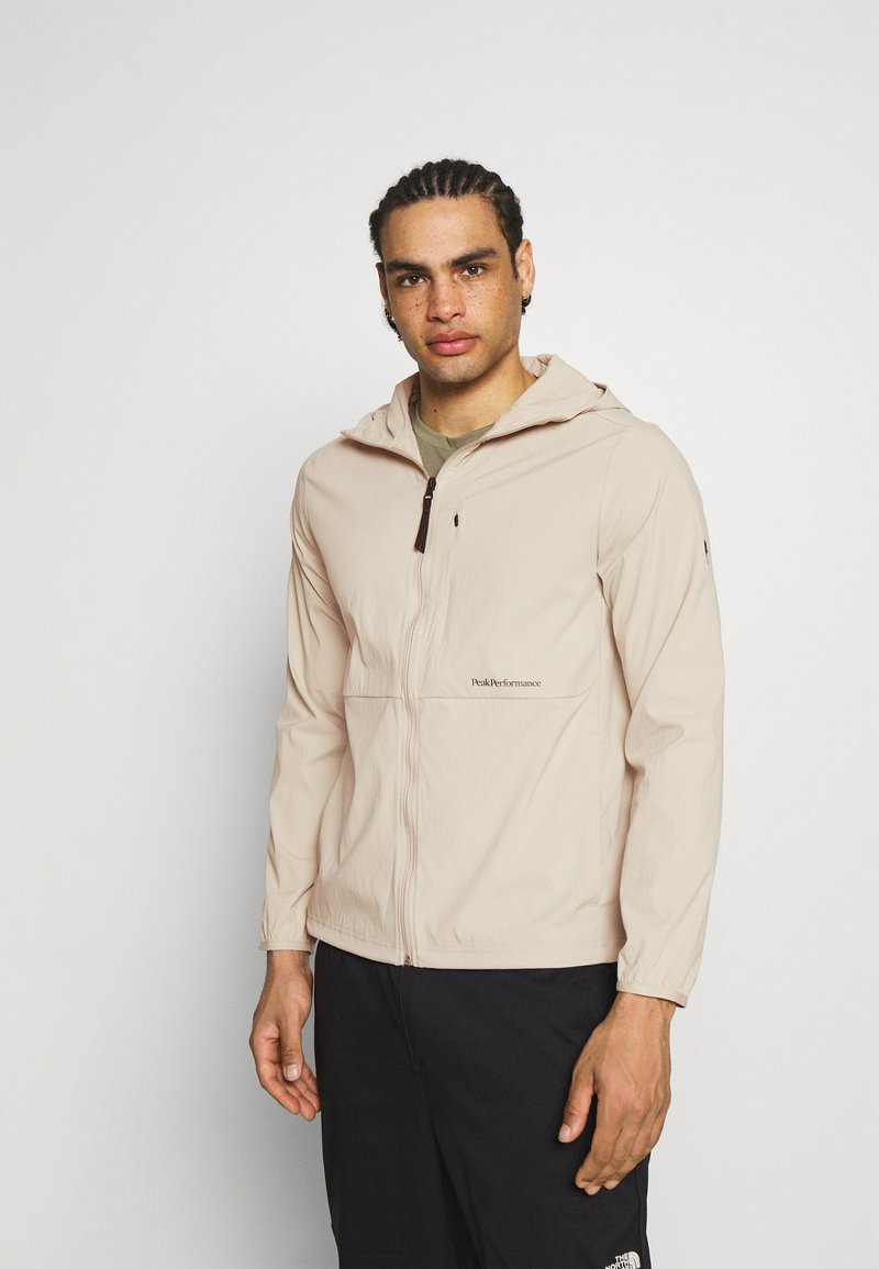 Peak Performance - TECH A2B LIGHT - Soft shell jacket - celsian beige