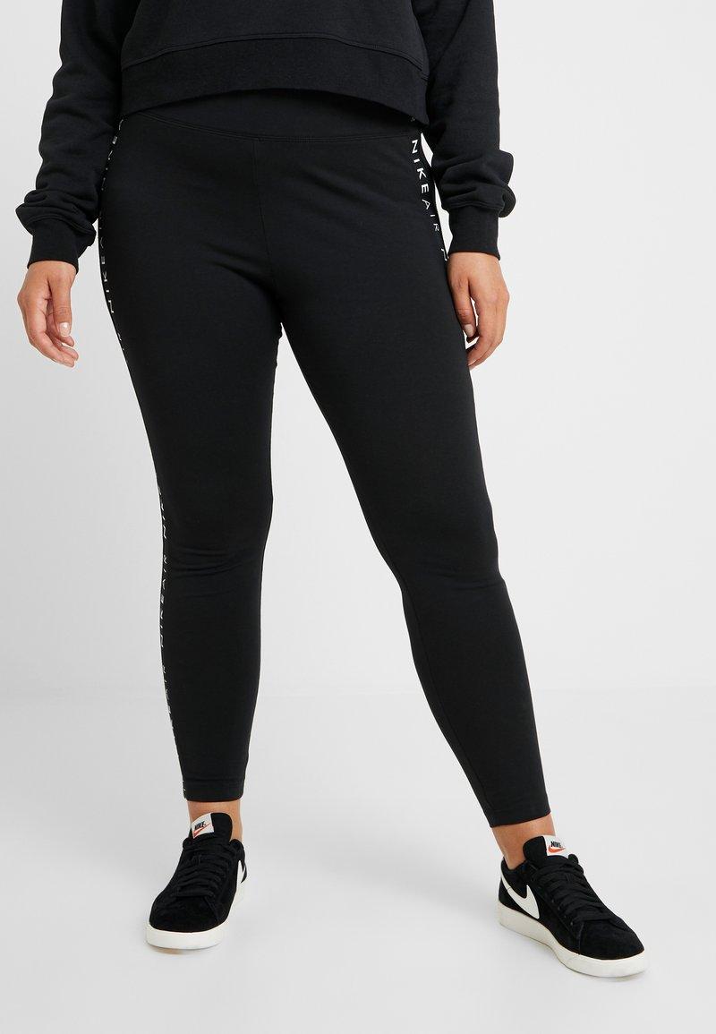 Nike Sportswear - AIR PLUS - Leggings - Trousers - black