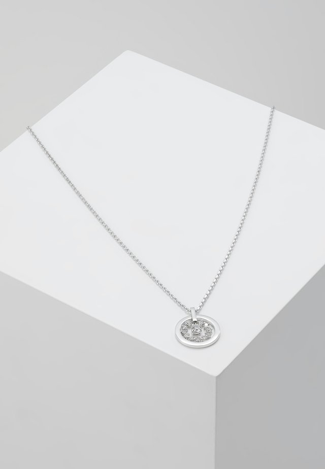 FURTHER NECKLACE CIRCLE  - Kaulakoru - silver-coloured