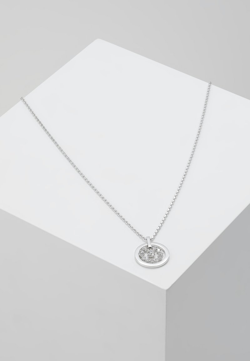 Swarovski - FURTHER NECKLACE CIRCLE  - Naszyjnik - silver-coloured