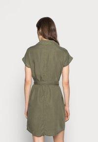 Noisy May - NMVERA ENDI DRESS - Shirt dress - olive night - 2