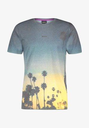 Print T-shirt - schwarz (15)