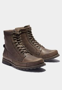 Timberland - ORIGINALS II 6 INCH - Lace-up boots - dk brown full grain - 1