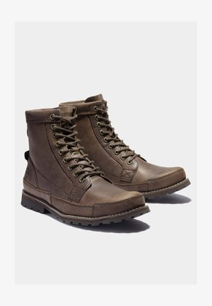 ORIGINALS II 6 INCH - Lace-up boots - dk brown full grain