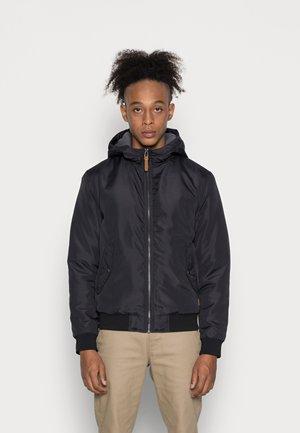 JJFLYNN HODDED BOMBER - Light jacket - black