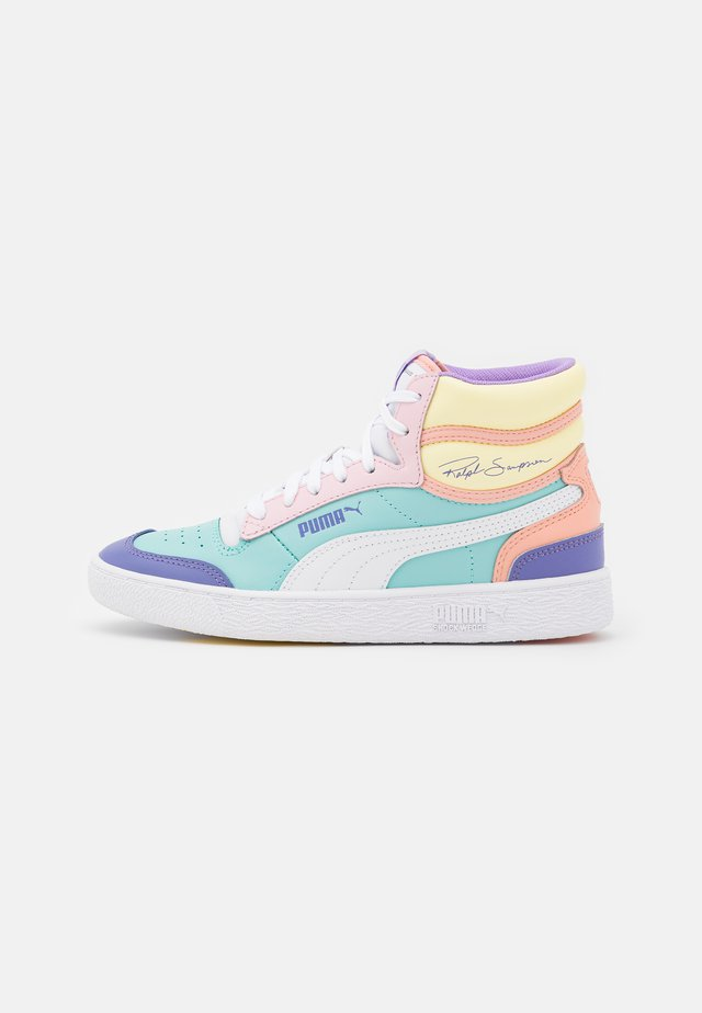 RALPH SAMPSON MID  - Sneakers hoog - blue/pink lady