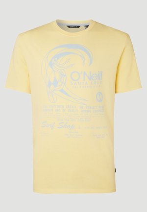 O'RIGINALS PRINT - Print T-shirt - gelb