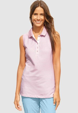 Polo shirt - rosenholz