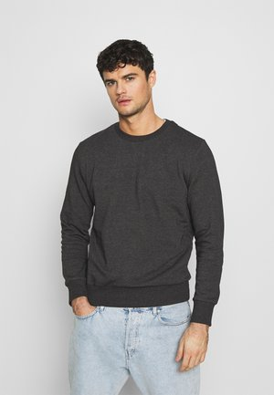 JONES - Sweater - charcoal marl/jet black