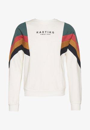 CREW SEATTLE CRUDO UNISEX - Sweatshirt - off white