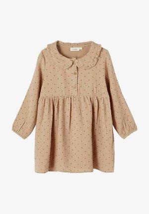 Shirt dress - almondine