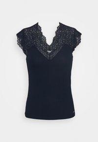 Morgan - DENA - T-shirt basique - marine - 4