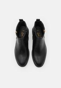 New Look - BRUCIE QUILTED ZIP - Kotníková obuv - black - 5