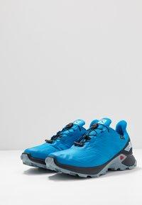 Salomon - SUPERCROSS BLAST GTX - Trail running shoes - indigo bunting/navy blazer/ashley blue - 3