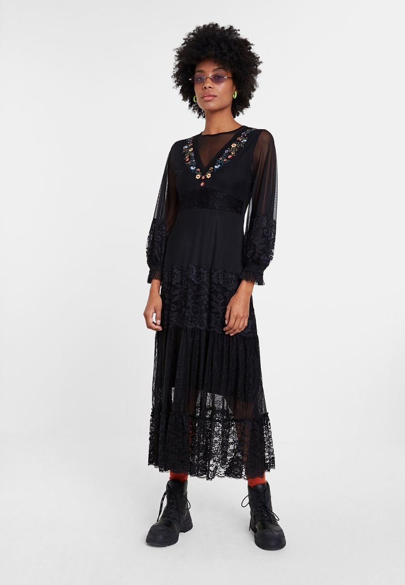 Desigual - PEKIN - Maxi dress - black