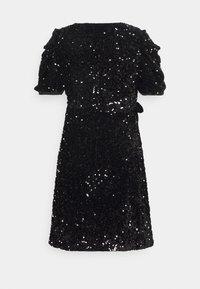 YAS Petite - YASSEQUELLA WRAP DRESS SHOW - Cocktail dress / Party dress - black - 1