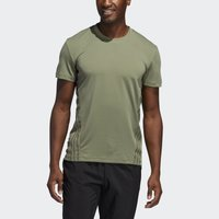 adidas Performance - AEROREADY TRAINING SLIM SHORT SLEEVE TEE - Triko s potiskem - green - 4