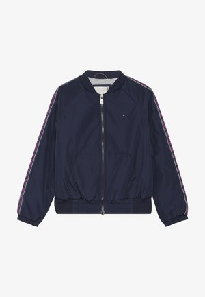 ESSENTIAL TAPE JACKET - Light jacket - blue