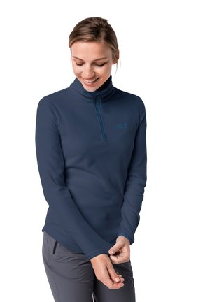 ECHO - Fleece jumper - dark indigo