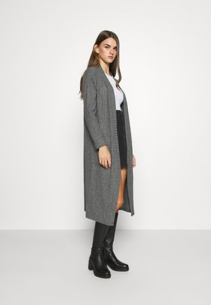 NMINDIGO LONG  - Vest - dark grey melange