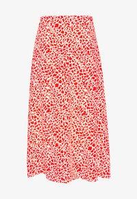 CAROL - A-line skirt - poinciana