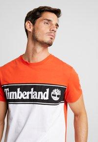 Timberland - CUT & SEW TEE - T-Shirt print - spicy orange - 4