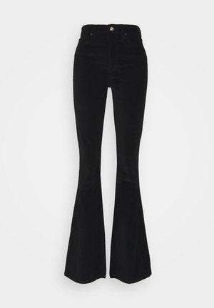JAMIE - Flared Jeans - black