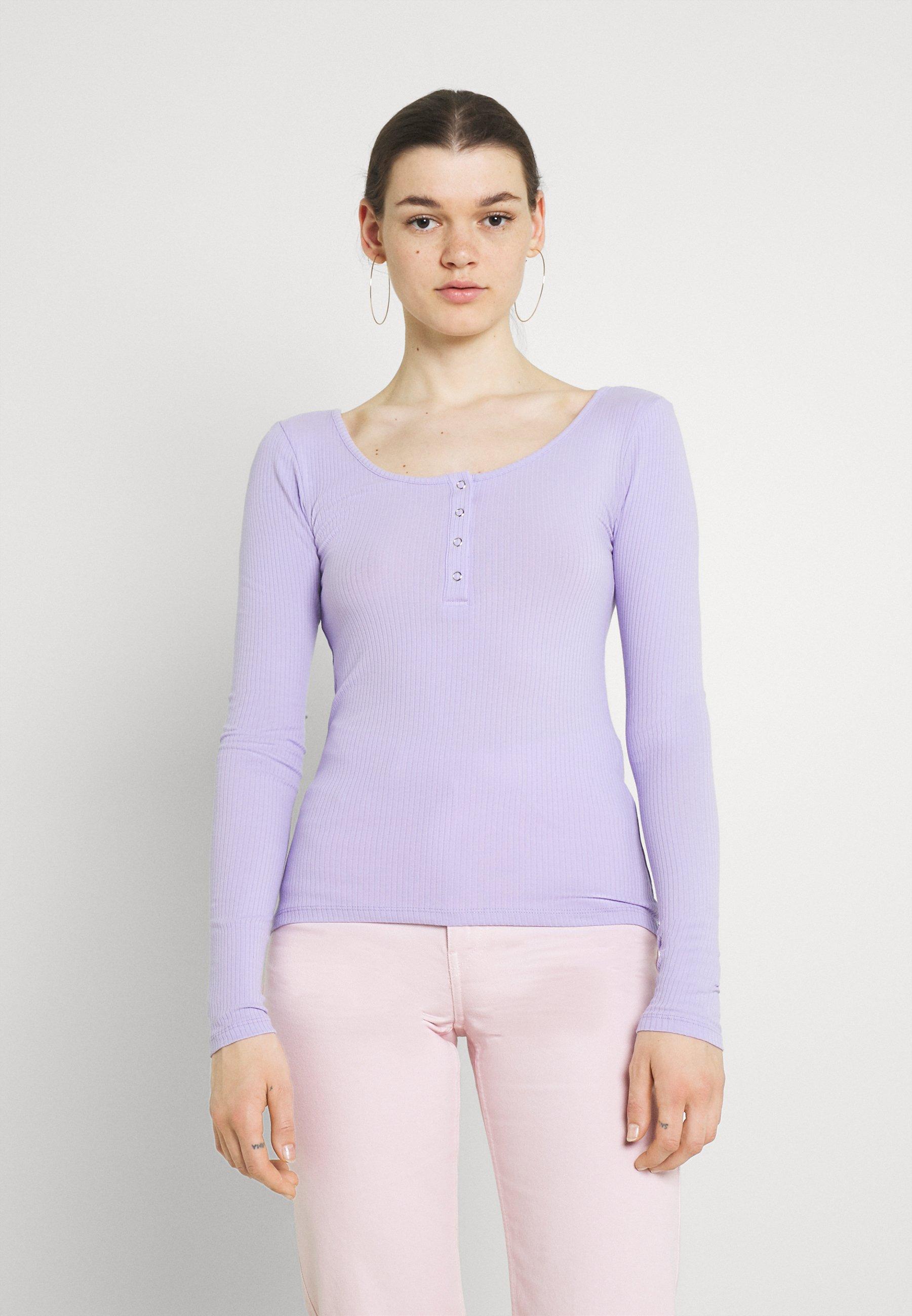 Women PCKITTE - Long sleeved top - lavender