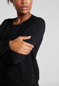 Deha - FELPA GIROCOLLO - Sweatshirts - black - 5
