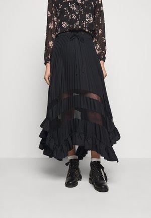 SELODE - A-line skirt - noir