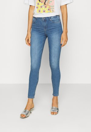 ONLIRIS PUSHUP  - Jeansy Skinny Fit - light-blue denim