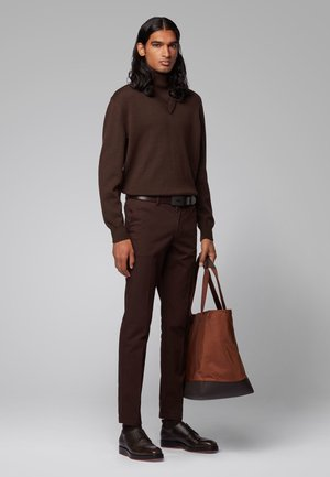 JECIL OR - Belt - dark brown