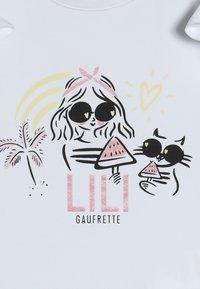 Lili Gaufrette - GOODNESS - Triko spotiskem - blanc - 4