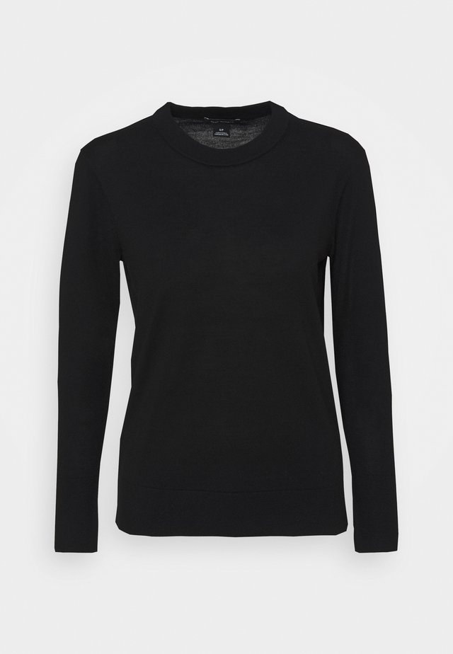 ESSENTIAL CREWNECK - Jumper - black