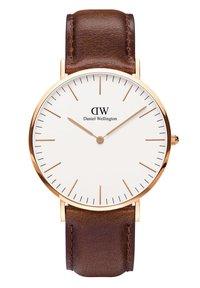 Daniel Wellington - CLASSIC BRISTOL 40MM - Watch - rosegoldfarben - 0