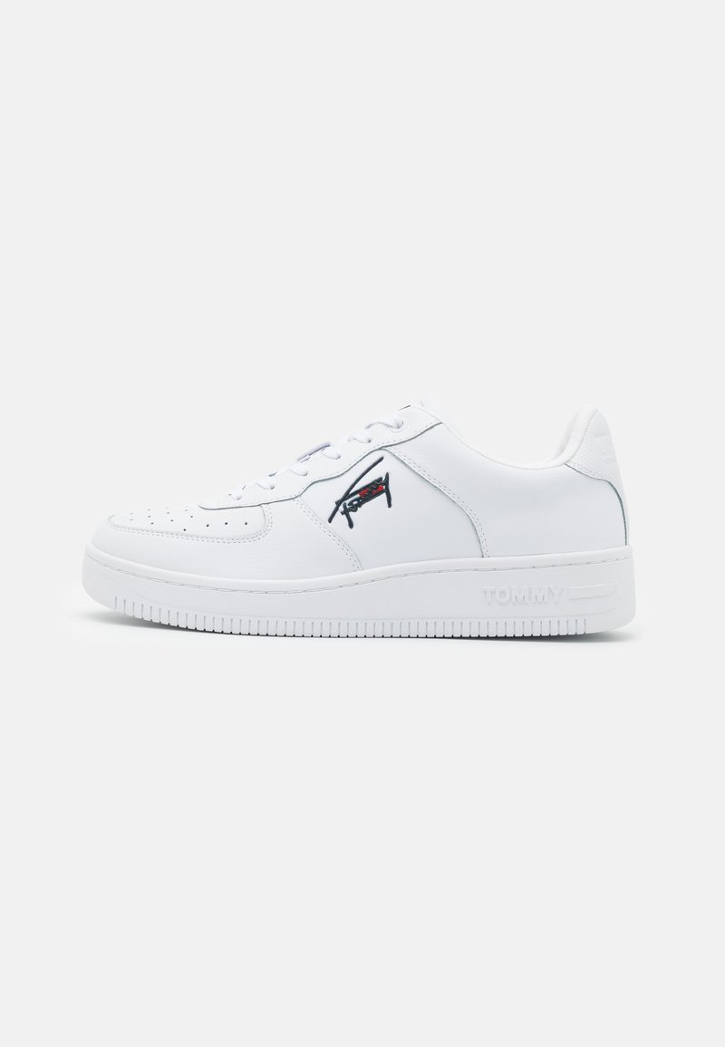 Tommy Jeans - BASKET CUPSOLE  - Trainers - white