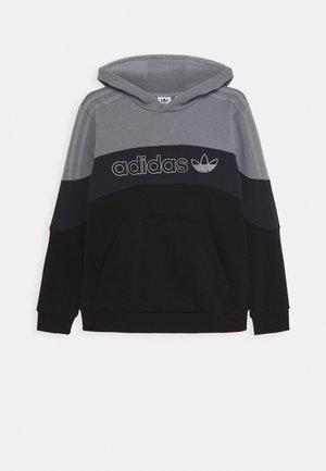 HOODIE - Hoodie - grey/grey/black
