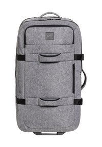 Quiksilver - QUIKSILVER™ NEW REACH 100L - EXTRAGROSSER KOFFER MIT ROLLEN EQYBL - Wheeled suitcase - light grey heather - 0