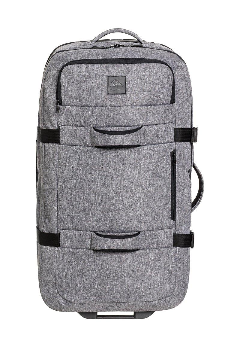 Quiksilver - QUIKSILVER™ NEW REACH 100L - EXTRAGROSSER KOFFER MIT ROLLEN EQYBL - Wheeled suitcase - light grey heather