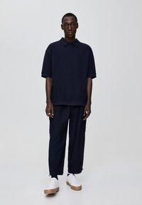 PULL&BEAR - Polo shirt - dark blue - 1