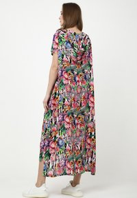Madam-T - ADELINARA - Maxi dress - schwarz rosa - 2