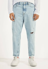 Bershka - Jeansy Relaxed Fit - blue - 0