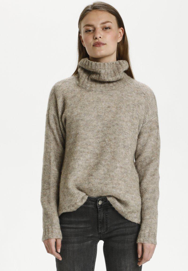 My Essential Wardrobe - Jumper - dune melange