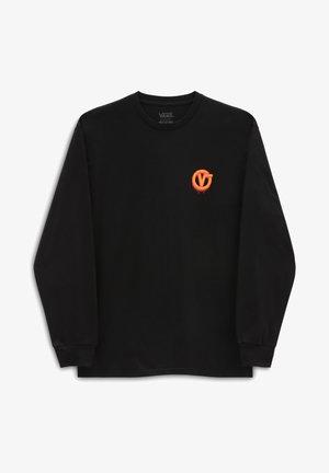 MN OTW CELLAR LS - Maglietta a manica lunga - black