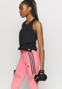 adidas Performance - Sportshirt - black/white - 3