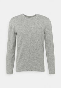 Marc O'Polo DENIM - LONG SLEEVE CREW NECK STRUCTURE CHANGE ON THE BACK - Strickpullover - multi/egg white - 0